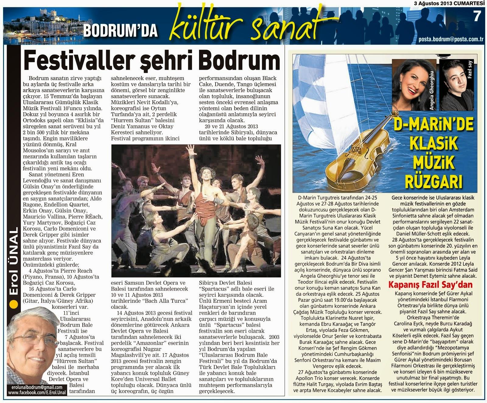 03 FESTİVALLER ŞEHRİ BODRUM