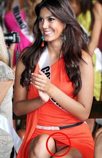 Miss Universe Colombia Catalina Robayo Tertangkap Kamera Tidak Pakai Celana Dalam