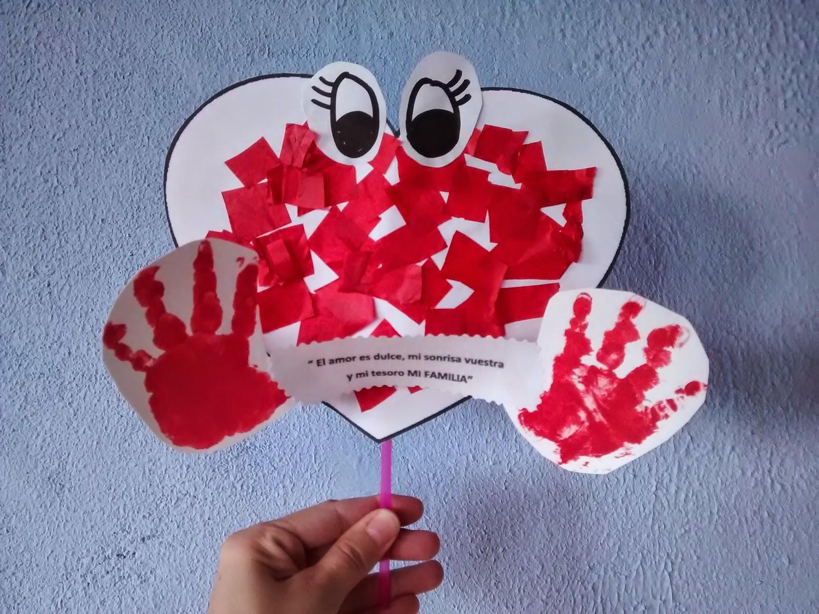 Materiales para educaci n infantil d a de la familia for Manualidades en familia
