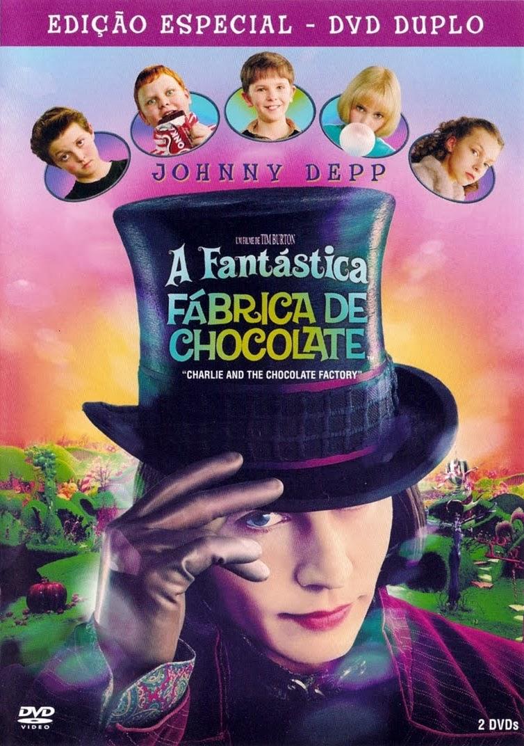 A Fantástica Fábrica de Chocolate – Dublado (2005)