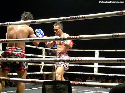 Thailand vs Challenger series 2012 Thailand vs Asia in Malaysia Muay Thai Ali Yaakub vs Petchumhol