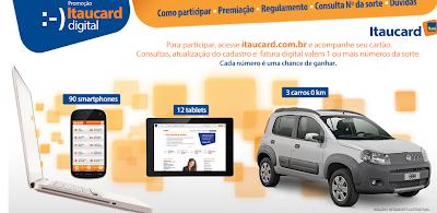 """Promoção """"Itaucard Digital"""""""