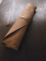 (2)ドラムスティックケース ヌメ革 中・巻くやつ キボリコキボリオ