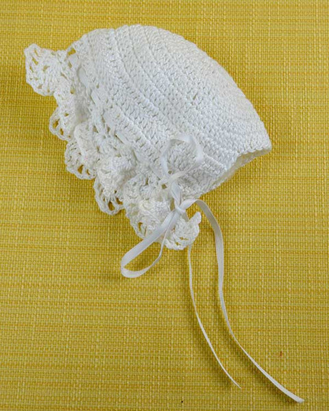 Croche Madona-mía puntos y graficos: Vestido de Bautizo a crochet ...