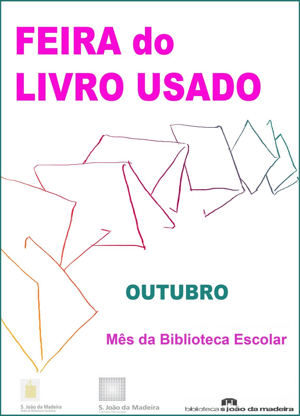 FEIRA DO LIVRO USADO (Biblioteca Municipal)