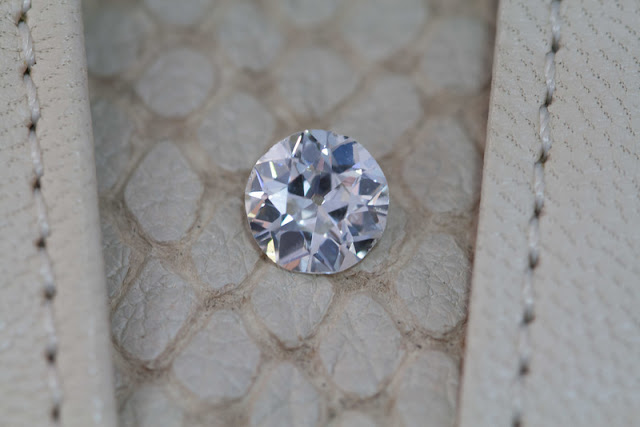 antique diamond cut unmounted OEC Jogani bevelry hills