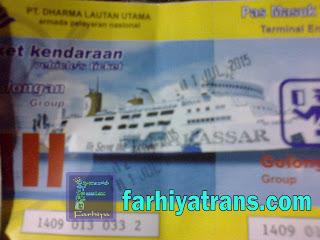 tiket kapal roro