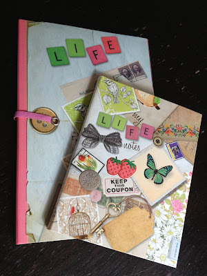 Parragon Life Canvas Journals