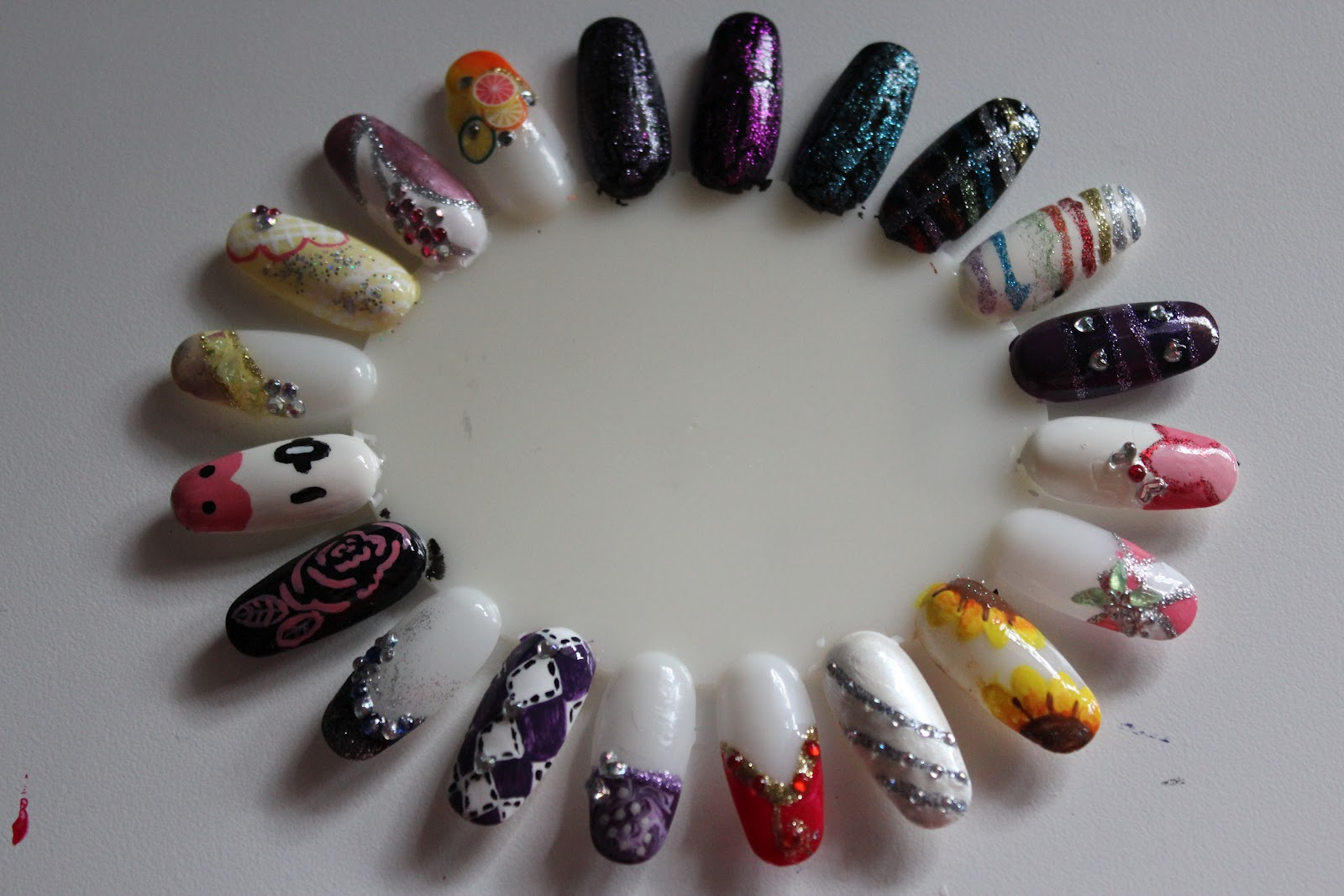 Baking Recipes and Nail Design all in one: long awaited nail designs ...