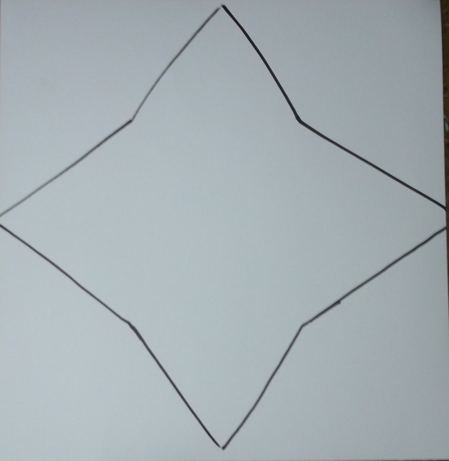 Scrapbook paper envelope template - Once Your Template Is Ready Lay It Flat On Your Scrapbook Paper And Trace It Out
