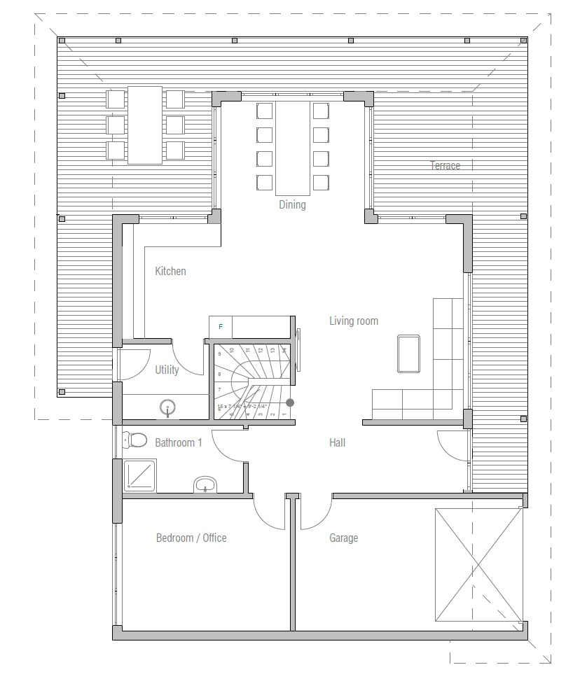 contemporary house plans contemporary house design ch179