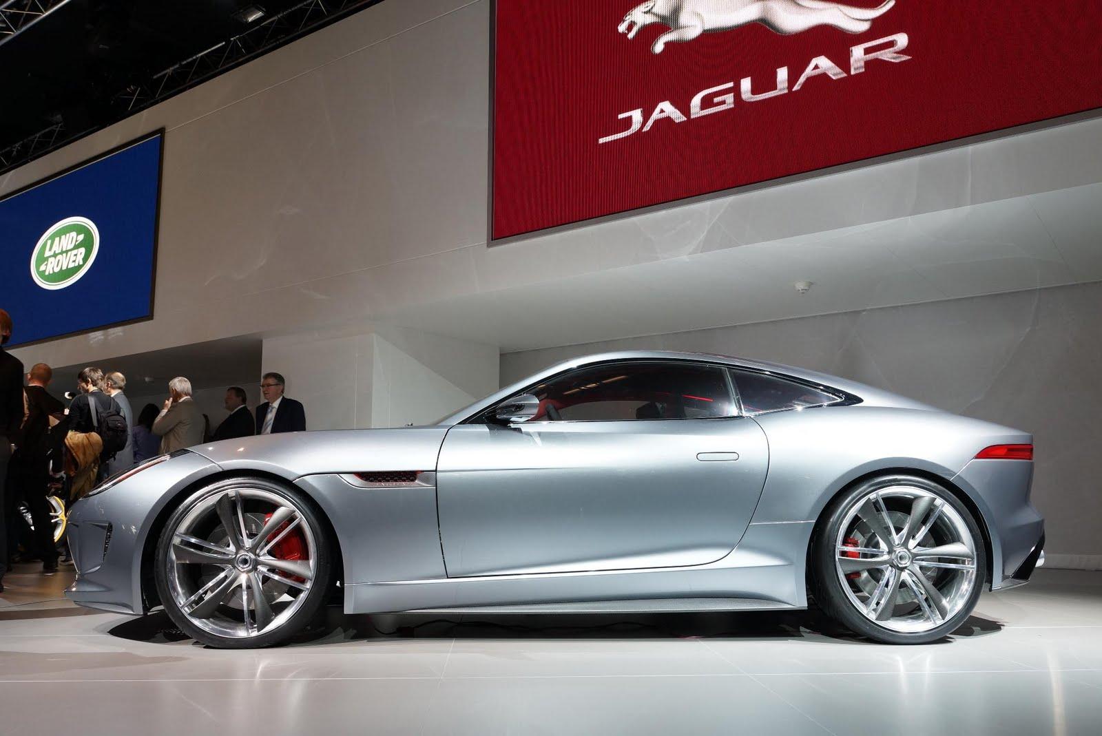 Jaguar C X16 Concept Live Frankfurt Motor Show 2011   Garage Car