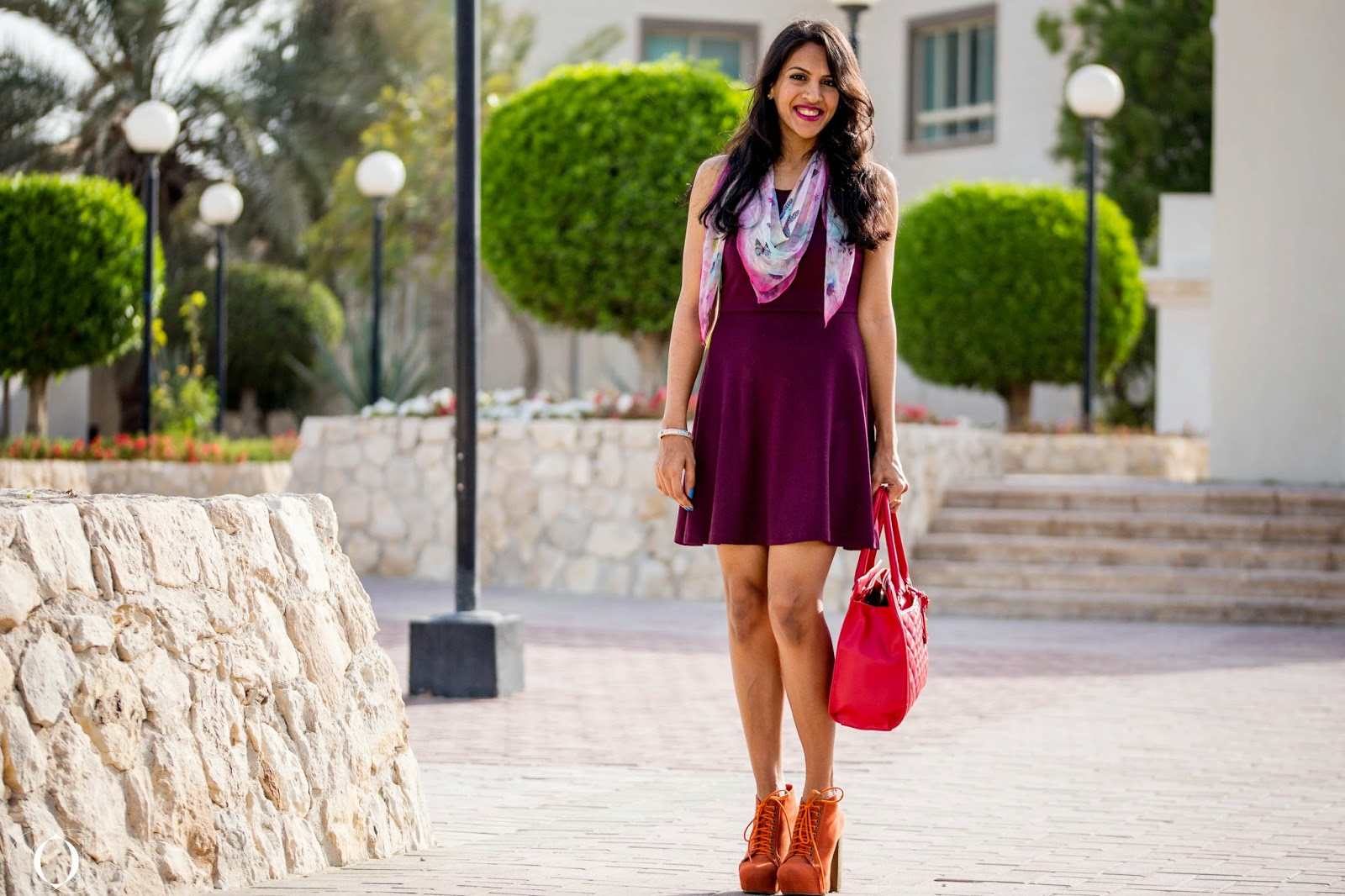 Dress H&m Scarf Gifted