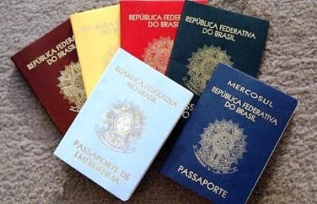 Documentos Passaporte Brasileiro