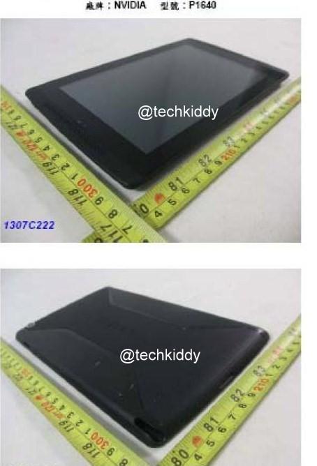 Nvidia Tegra Tab P1640 clears NCC