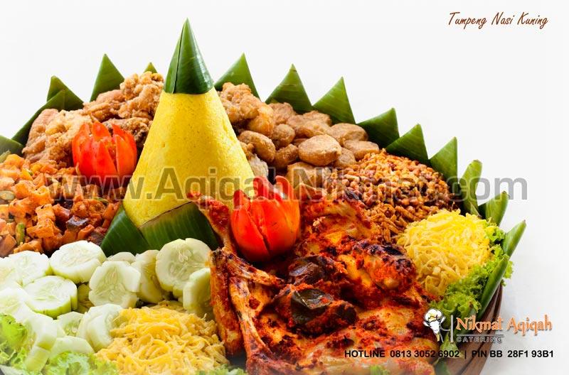 Tumpeng Nasi Kuning Nikmat Aqiqah