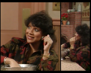 Cosby Show Huxtable fashion blog 80s sitcom Phylicia Rashad pregnant Clair Huxtable