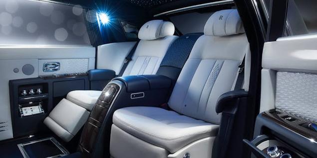 2017 Rolls-Royce Phantom Interior