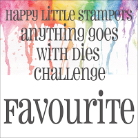 3 x Happy Little Stampers Anything Goes With Dies Favourite