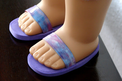 Make Flip Flops for Your Doll
