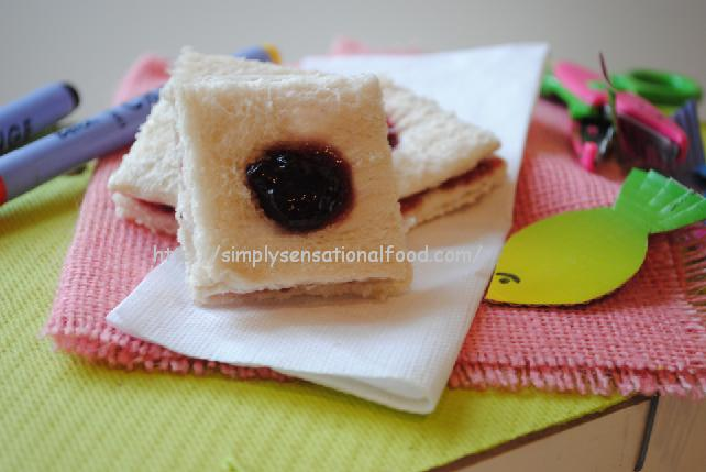 Novelty Kids Sandwiches Jammie Dodger Simply Food