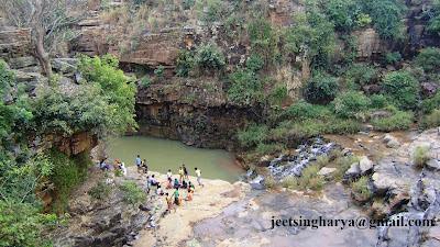 picnic waterfall