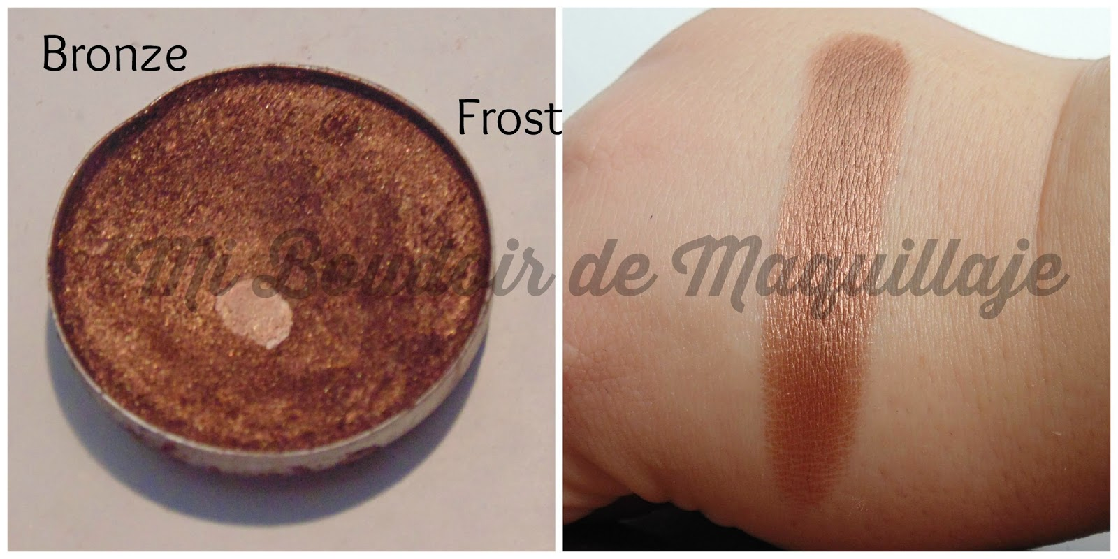 Bronze Eyeshadow Mac Frost