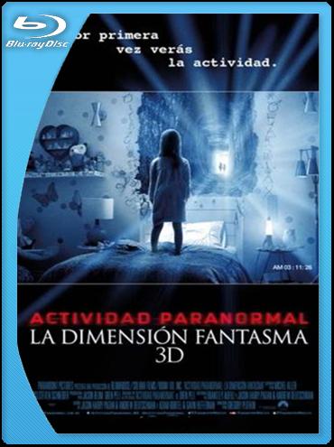 Paranormal Activity: Dimensión fantasma (2015) BrRip 720p Latino