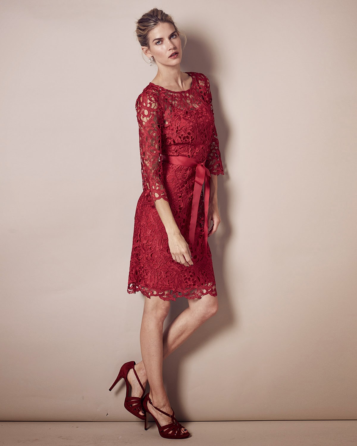 fashion for linda christmas party dress 2014 red phase