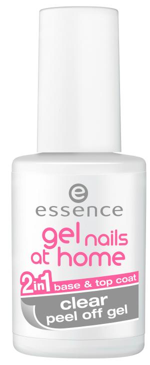 essence yes, we POP! – 2in1 clear peel off gel base & top coat
