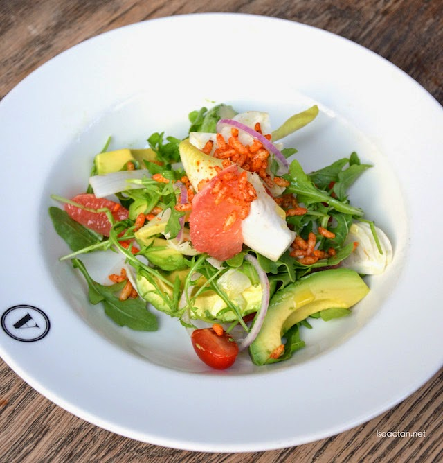 Avocado and Grapefruit Fennel Salad