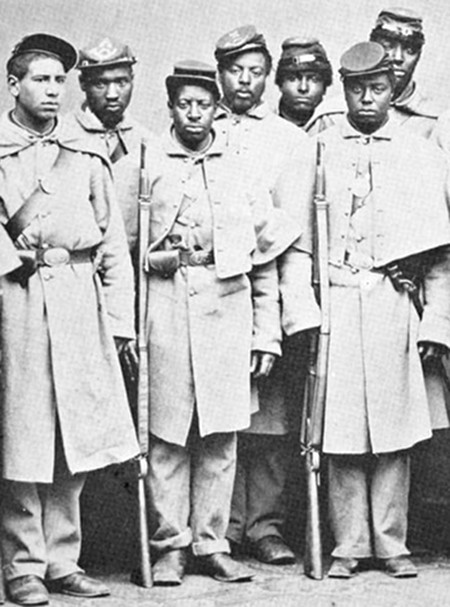 an appreciation of the african american soldiers during the civil war African-american activist and world war i veteran oliver law, fighting in the abraham lincoln brigade during the spanish civil war, is believed to have been the first african-american officer to command an integrated unit of soldiers.