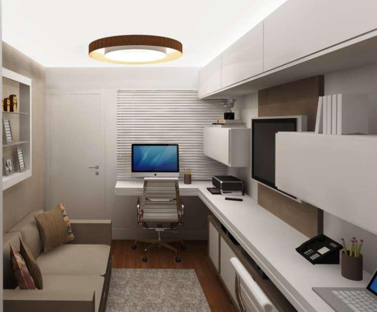 Home Office Na Sala De Tv ~ Home Office  decoração e dicas para trabalhar em casa ~ Pimenta