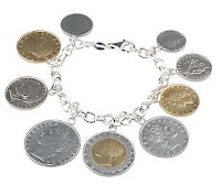 Italian Coin Bracelet Qvc7