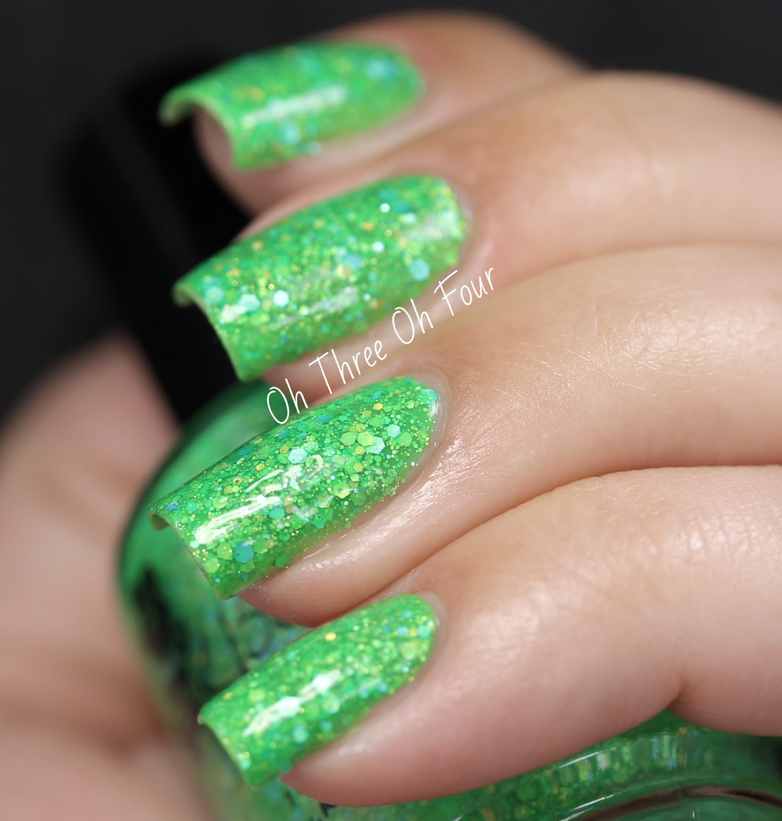 KBShimmer Partners in Lime Swatch