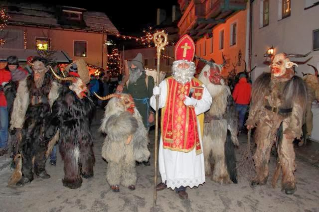 krampus, lendas, lenda, natal, tradições, terror, medo, criança, noite