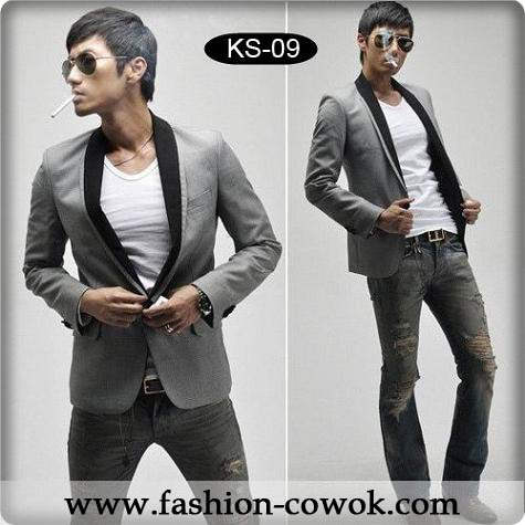Slim-Fit Korea Blazer
