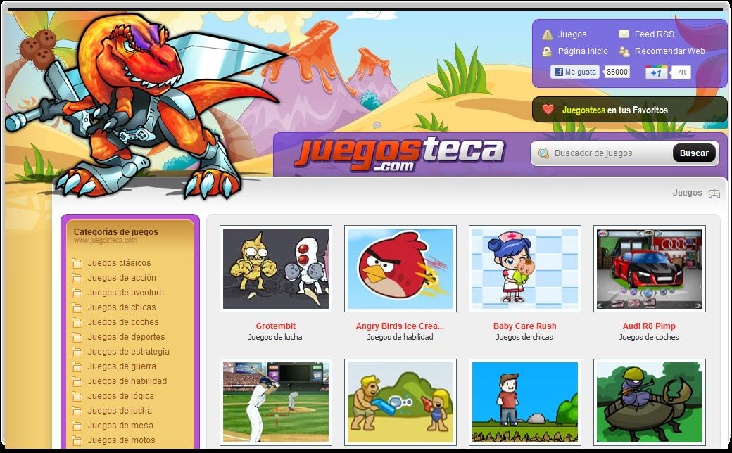 Juegosteca.com, juegos online gratis