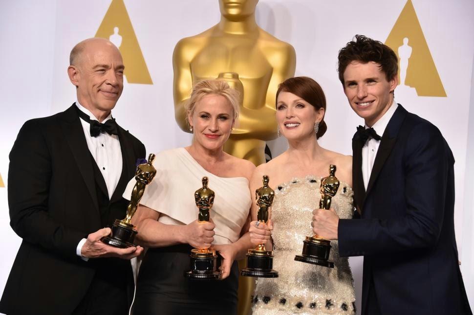 Ganadores de los Oscar 2015 : A c�mara lenta - Blog de cine