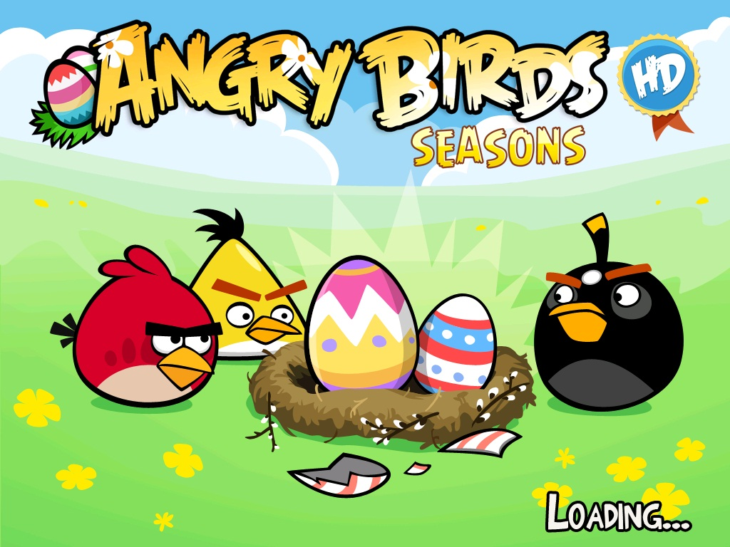 Angry birds wallpapers 2012