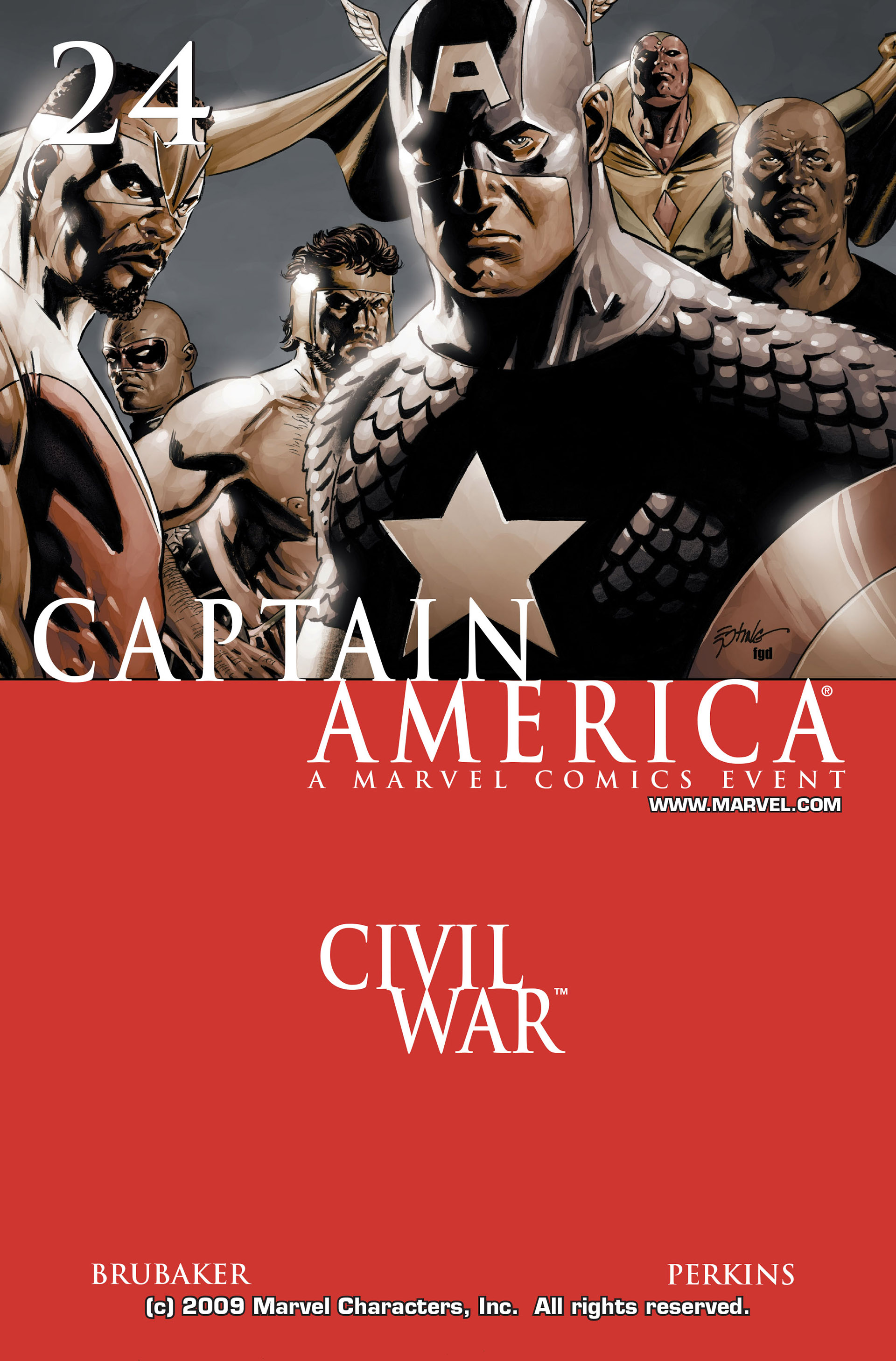 Captain America (2005) Issue #24 #24 - English 1