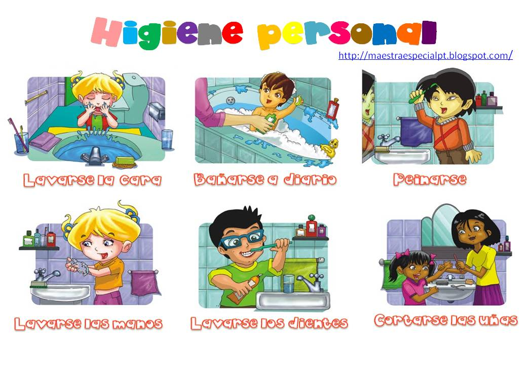Habitos De Higiene Imagenes