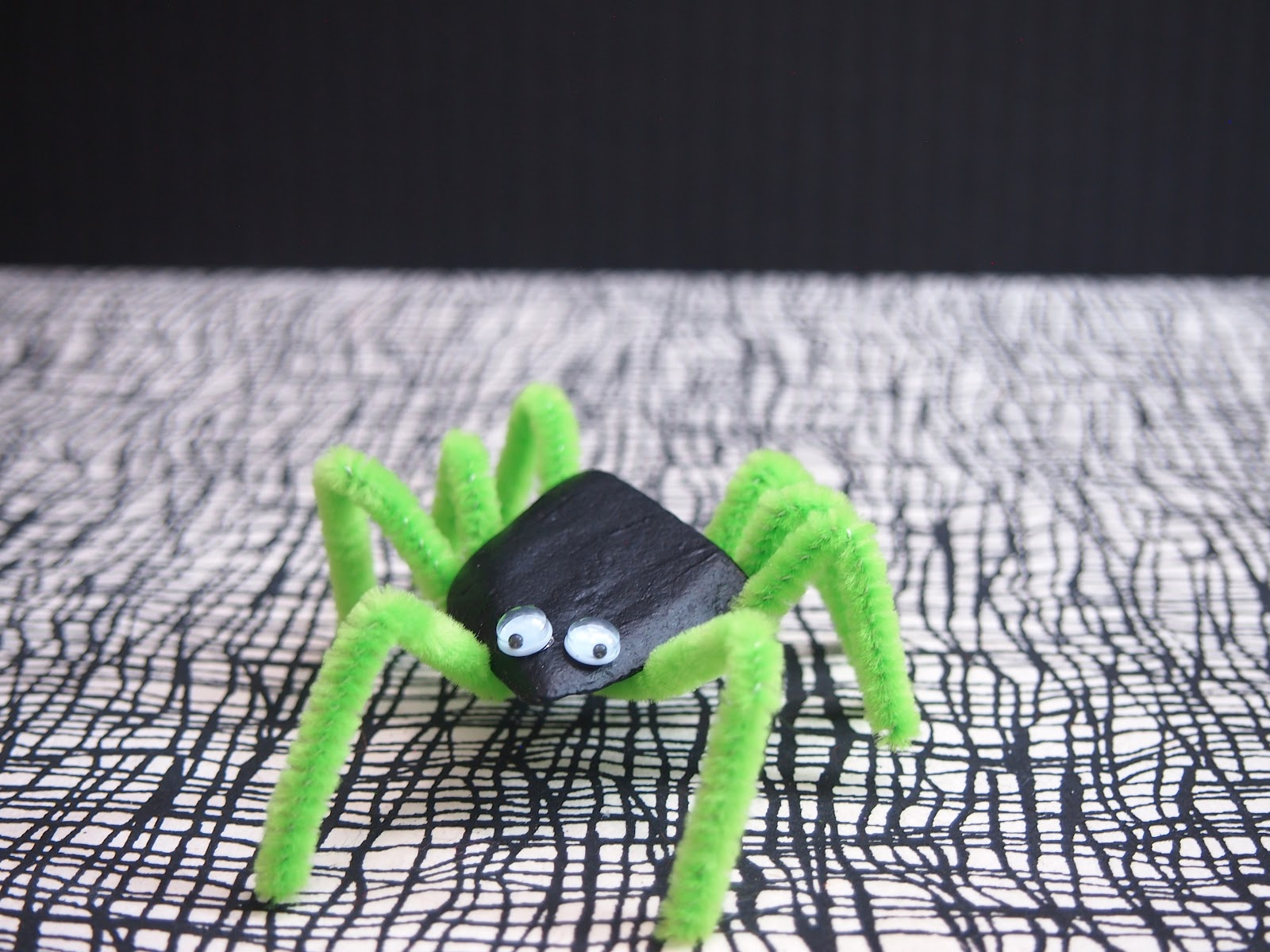 The Tiny Funnel: Halloween Rock Spiders