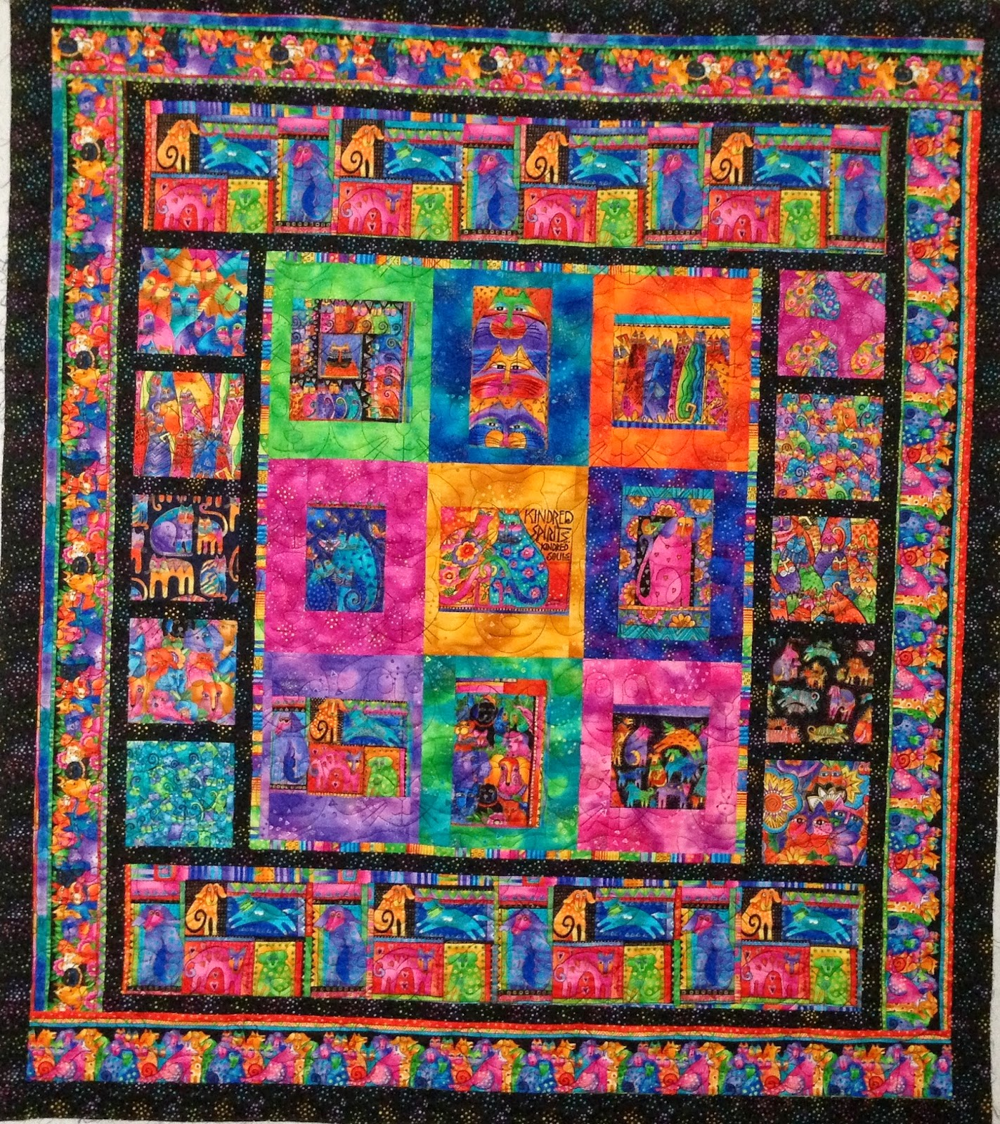 Lisa Boyette Felines and Canines Quilt