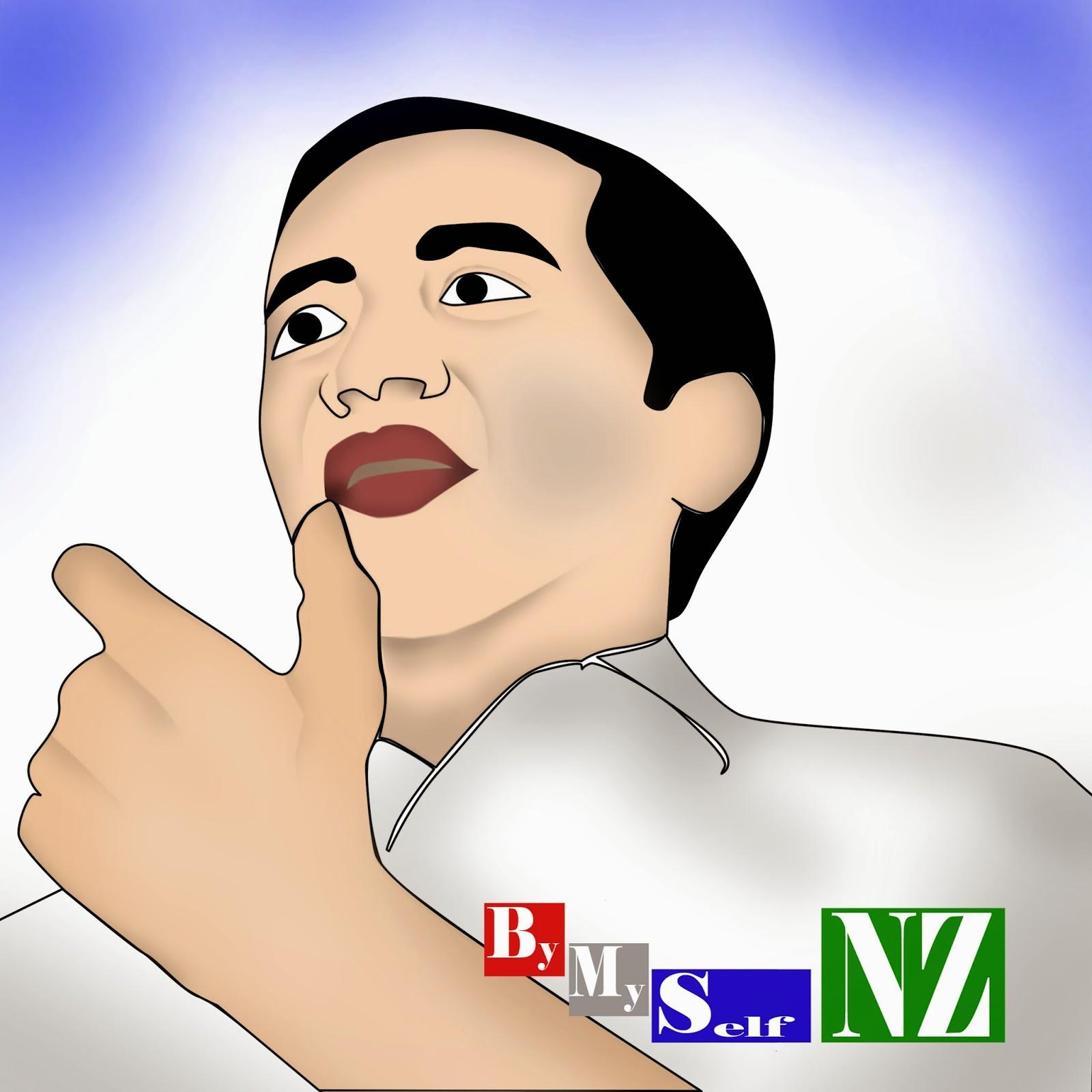majunya Jokowi sebagai calon presiden (capres)