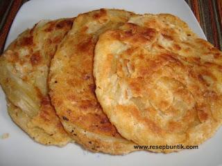 Berbagi resep roti yaitu Resep Cara Membuat Roti Cane Renyah Gurih, cara membuat roti maryam, cara bikin martabak surban, roti enak, cara membuat roti mudah, roti cane kari kambing