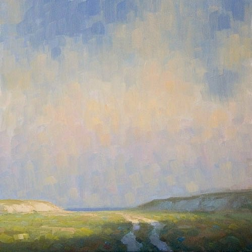 Steve Allrich: Landscape painting, Cape Cod : A Summer Like This