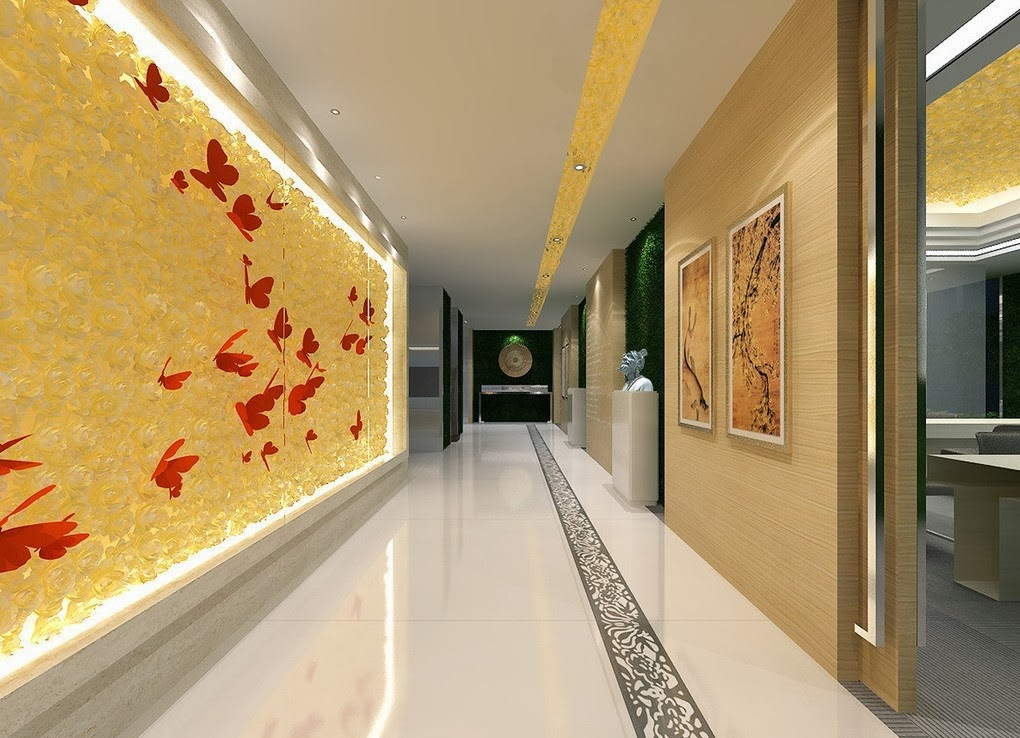 Foundation dezin decor office corridor design idea 39 s - Corridor decoratie ...