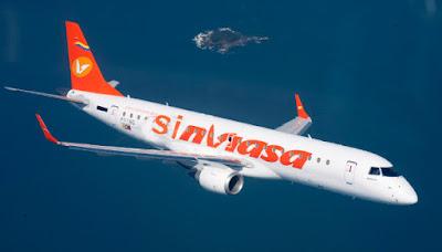 La aerolínea venezolana pierde la placa