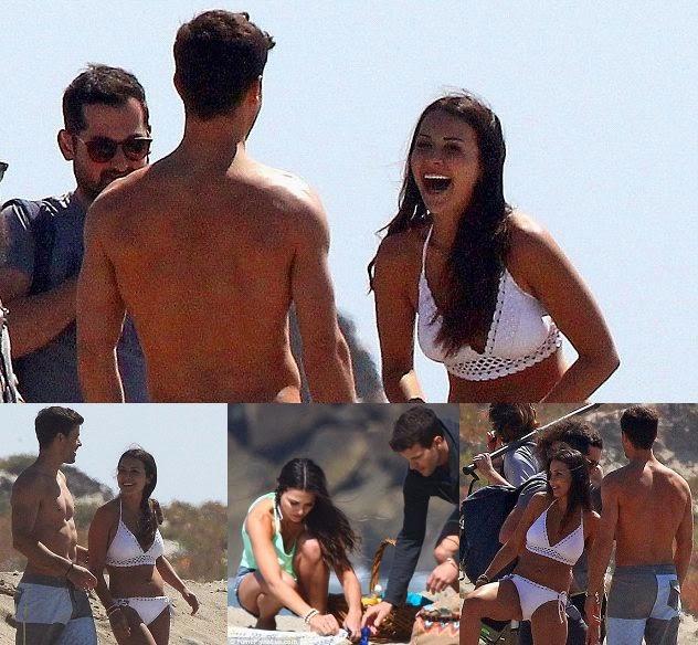 Andi Dorfman looks beauty in a White Bikini as she enjoys her picnic session in California
